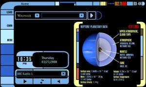 stark trek interface