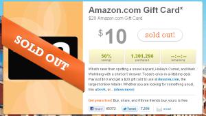 LivingSocial Coupon for Amazon